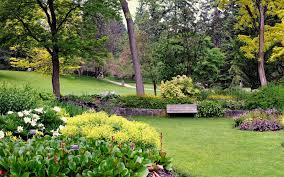 Botanical Garden Definition by Landscapes Botanical Bench Shrubs Gardens Nature Canada Vandusen
