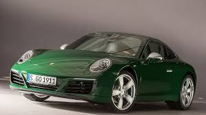 porsche 911 dark green porsche reveals its one millionth 911 this is money
