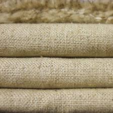 Natural Linen Curtain Fabric Linen Cotton 15oz Heavy Muslin Fabric For Upholstery Craft Natural