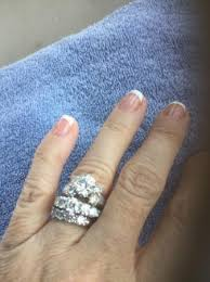 engagement ring and wedding band engagement ring wedding band picture of gemani jewelers aruba
