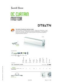 amazon com automatic curtain system accept customized track size