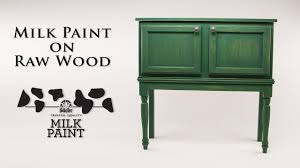 how to paint unfinished pine furniture how to use milk paint on wood