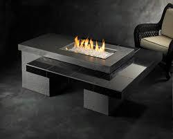 Outdoor Natural Gas Fire Pit Furniture Ideas Rectangular Outdoor Fire Pit Designs L