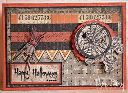 i city halloween scrapbook flair pam bray designs happy halloween card with sin