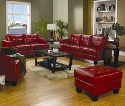 Red Living Room Chair Remarkable Design Red Leather Living Room Furniture Inspirational