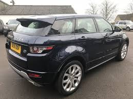 range rover evoque blue used loire blue land rover range rover evoque for sale