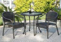 Bistro Patio Table Bistro Patio Table And Chairs Set Lovely Stylish Garden Furniture