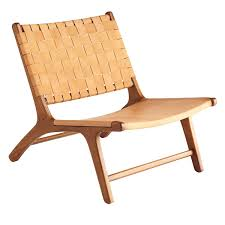 Wood And Leather Lounge Chair Design Ideas Woven Leather Lounge Chair Wisteria Chairs Pinterest Leather