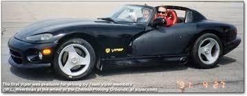 dodge viper chassis for sale 1989 dodge viper prototype concept car