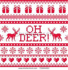 merry christmas maori zealand pattern stock vector 692280022