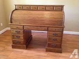 solid oak roll top desk ethan allen solid oak roll top desk for sale in frostproof florida