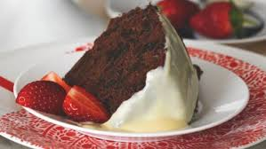 cuisine prune recipe chocolate prune steamed pudding with custard
