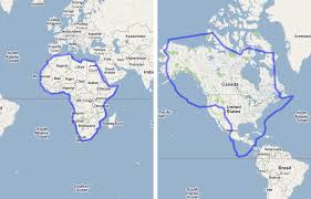 africa map real size the true size map lets you move countries around the globe to the