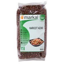 cuisiner des haricots rouges secs haricot azuki légumineuses sèches produit bio markal