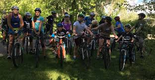 adding some instruction to a weekly youth group mtb ride