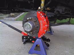 Old Ford Truck Brake Parts - monster 8 piston brake calipers ford truck enthusiasts forums