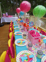 Decorate Table For Birthday Party Best 25 Candy Theme Decorations Ideas On Pinterest Candy Land