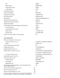 Resume For Stay At Home Mom Returning To Work Examples by Ds 160 Sample Form Collegepond