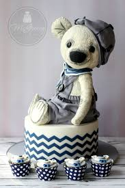 a classic teddy bear cake tutorial mcgreevy cakes