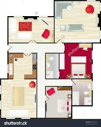 lean to shed plans designs build free guest architecture l shaped home decor large size typical floor plan of a house in color with furnishings stock