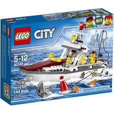 lego city great vehicles fishing boat 60147 toys