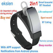 life bracelet app images Ekslen k2 talkband smart bracelet 2in1 bluetooth headset wristband jpg