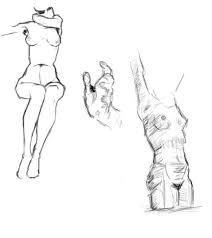 female anatomy studies by lawrenceofarabia on deviantart