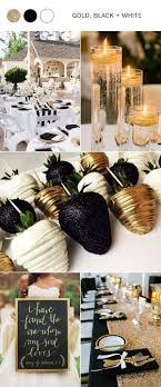 black and gold wedding ideas best 25 black gold weddings ideas on glamorous