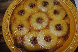 old fashioned pineapple upside down skillet cake