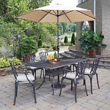 Patio Dining Set by Hampton Bay Beverly 7 Piece Patio Dining Set With Beverly Beige