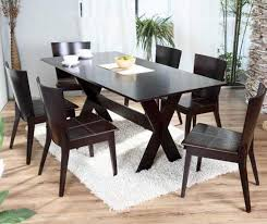 black wooden dining table set dining room great amusing black wood table and chairs best for