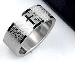 cross rings men images Titanium cross rings rings for men christian rings wedding jpg