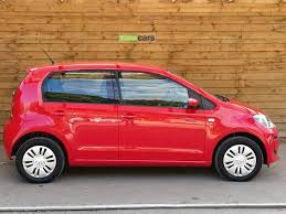 volkswagen up 1 0 move up 5dr sat nav u0026 bluetooth tornado red