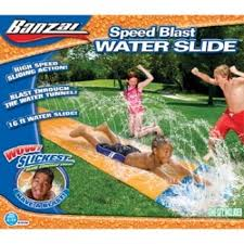 Water Slide Backyard by Banzai Water Slide Inflatable Kids Backyard Fun Play Center Summer