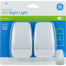 ge led night light ge automatic led night light 2 pack jasco