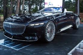 mercedes maybach vision mercedes maybach 6 cabriolet first look photo u0026 image gallery