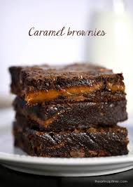chocolate fudge caramel brownies i heart nap time