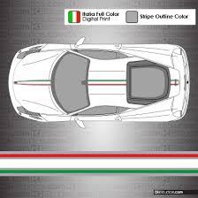 silver 458 italia 458 italia stripe kit 004 ki studios