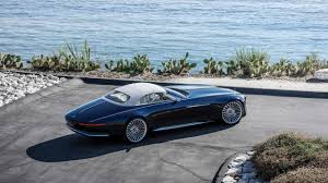 maybach and mercedes vision mercedes maybach 6 cabriolet luxury of the future