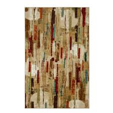 Coral Reef Area Rug Mohawk Home Facets Multi 5 Ft X 8 Ft Area Rug 491307 The Home