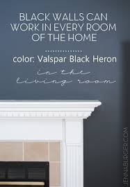 home trend black walls mountain decor loversiq top paint colors for black walls painting wall the bold neutral how dining room