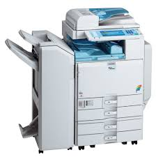 ricoh aficio mp c2800 3300 a3 colour photocopier print scan fax