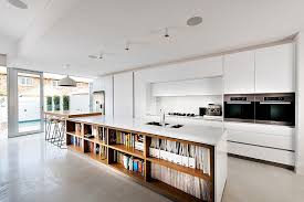 Kitchen Island Contemporary - trendy display 50 kitchen islands with open shelving