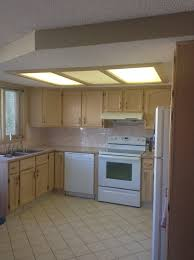can lights for drop ceiling ugly drop kitchen lighting needs to go