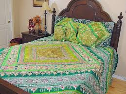 luxury india inspired bedding duvet fine handmade designer