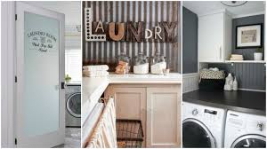 quick decor quick and easy diy country chic laundry room decor ideas