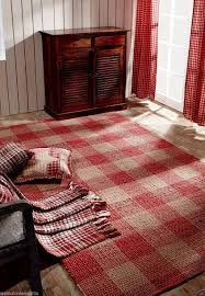 Plaid Area Rug Breckenridge Rustic Country Farmhouse Plaid Area Rug Warm Wool