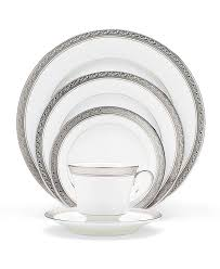 amazon com noritake crestwood platinum 5 piece place setting