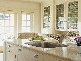 Mocha Kitchen Cabinets Kitchen Mirror Cream Cabinets With Mocha Glaze Cream Kitchen
