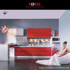 Kitchen Cabinets Red Online Get Cheap Red Lacquer Kitchen Cabinets Aliexpress Com